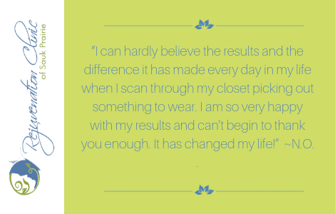 """""""I can hardly believe the results and the difference it has made every day in my life when I scan through my closet picking out something to wear"""""""