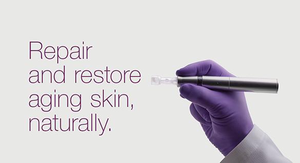 Repair and restore aging skin, naturally